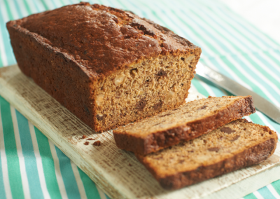 Divine's Chocolate Chip and Brazil Nut Banana Bread