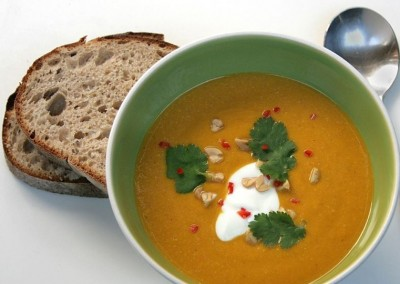 Hugh Fearnley Whittingstall – Butternut and nut butter soup