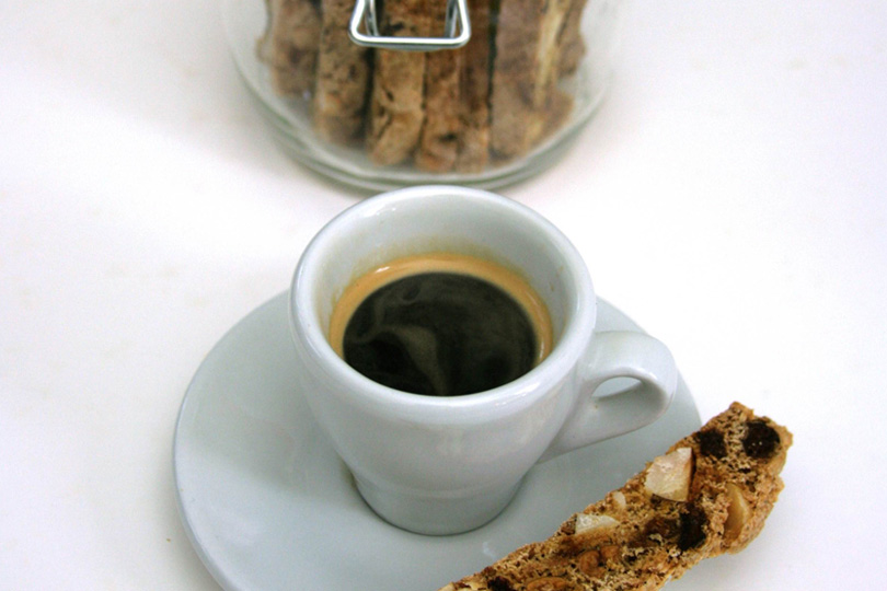 Peter Gordon – Fairtrade espresso, nut and fruit biscotti